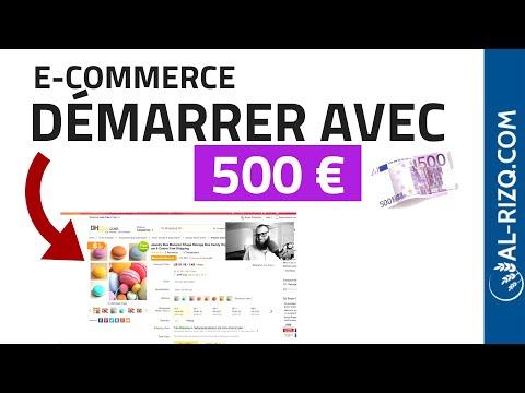 COMMENT DÉMARRER UN E-COMMERCE AVEC 500 EUROS ?