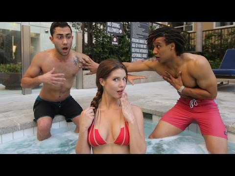 What Guys are REALLY Thinking When They See a Hot Girl (ft. Amanda Cerny)
