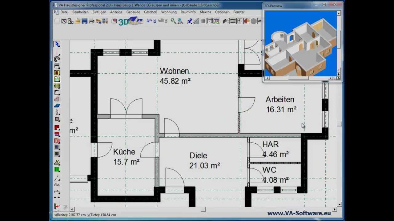 Hausplaner Online Kostenfrei Planungswelten De