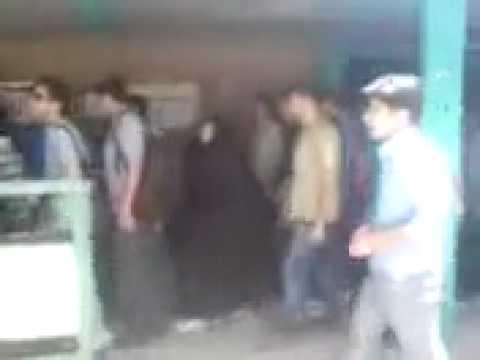 Islamic Regime agent films Students at Elm-o Sanat University - Iran 1 June 2010
