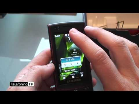 Samsung Ultra Touch s8300 videoreview da Telefonino.net