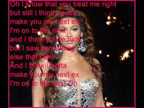 Beyonce Kick Him Out with Lyrics