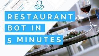 Créer une IA Messenger Bot pour un Restaurant à moins de 5 MINUTES!