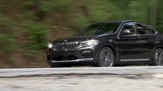 Driving scenes with the new 2019 BMW X4 xDrive30i