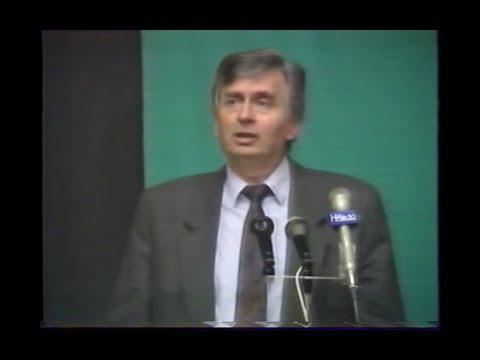 Antall József miniszterelnök beszéde a Műegyetemen