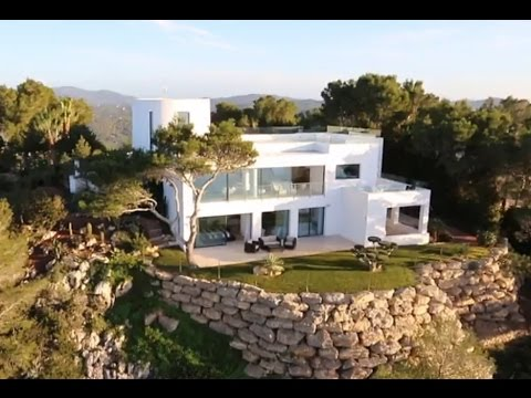 Seafrontline property with one of the best sea views on Ibiza - Luxury Villas Ibiza