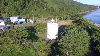 安井崎灯台(青森県東津軽郡平内町東滝)
