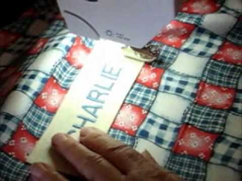 Sew a simple drawstring library bag tutorial.wmv - YouTube
