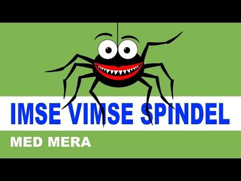 Imse Vimse Spindel m. m. | Svenska barnsånger
