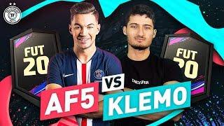 VIDEO: AF5 VS KLEMO : QUI AURA LE MEILLEUR JOUEUR ?! (12 000 pts Fifa)