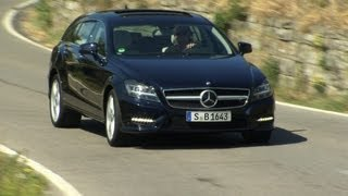 Neu: Mercedes CLS Shooting Brake - Testfahrt