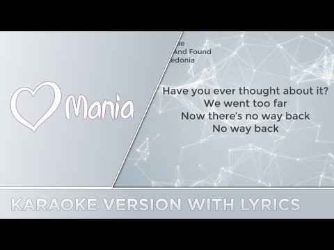 Eye Cue - Lost And Found (Macedonia) // Karaoke Version // ESC Mania