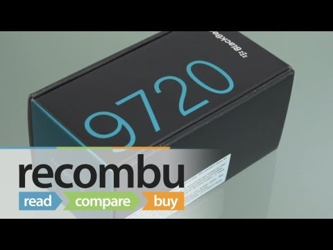 BlackBerry 9720 Unboxing video