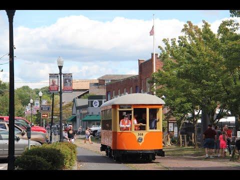 Trolley Museum of New York Kingston Trolley #358