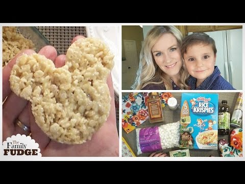 Salted BROWN BUTTER Rice Krispy Treats | Easy No Bake | Cooking With Kids