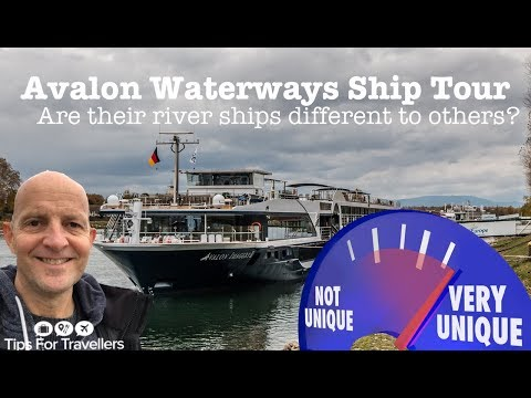 Avalon Waterways River Cruise Ship Tour. How Compare To Other River Cruise Ships?