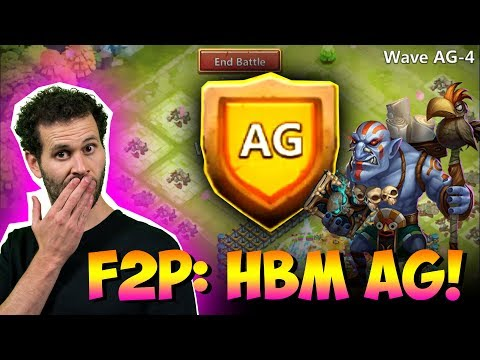 JT's F2P Makes HBM Look Easy Discount Store Is NUTS Castle Clash