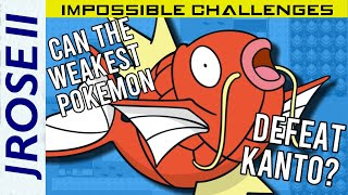 Is it Possible to Beat Pokemon FireRed/LeafGreen with Only Magikarp? - Impossible Challenges