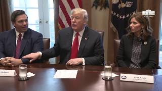 President Trump Meets with Governors-Elect
