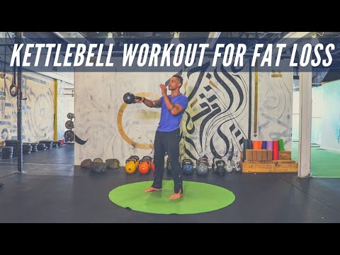 Minimalist Kettlebell Workout for Fat Loss & Conditioning