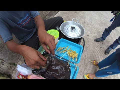 Indonesia Sumedang Street Food 2406 Part.1 Sate Usus Ayam SDN Cilewngkrang  YDXJ0337