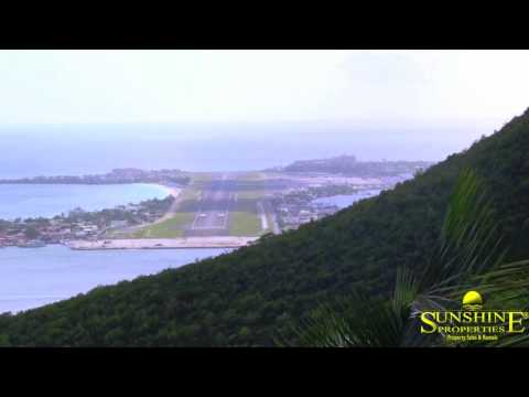What views!!St Maarten Almond Grove residence Real Estate in the Caribbean By Sunshine Properties