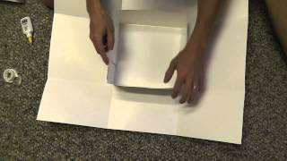 How To Make A Gift Box For $1 - A Whispered Do It Yourself Diy / Tutorial