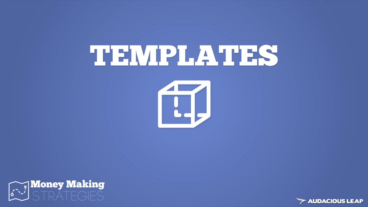 How Selling Templates Works (Money Making Strategies COURSE) 7/10