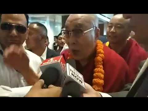 Dalai Lama reaches Jammu