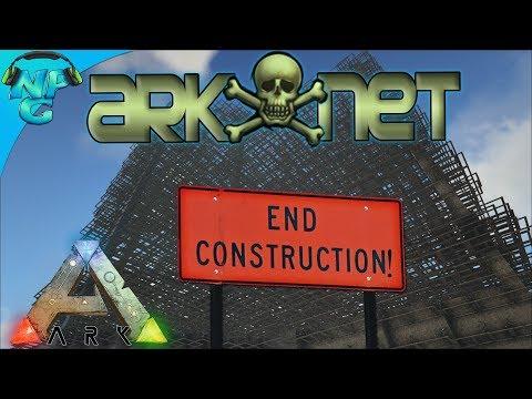 ARK Base Building - Completion of the ARK Net 3.0 and Defense Upgrades! ARK Ragnarok PVP E35