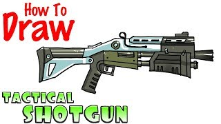How To Draw The Bolt Action Sniper Rifle Fortnite