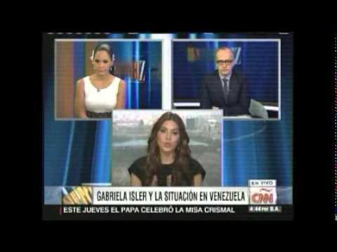 Miss Universo habla de Venezuela en CNN