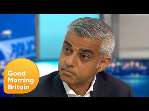 Sadiq Khan is Challenged on Knife Crime in London | Good Morning Britain