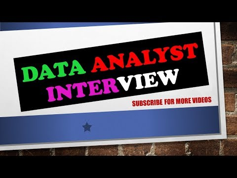 INTERVIEW QUESTIONS & ANSWERS DATA ANALYST