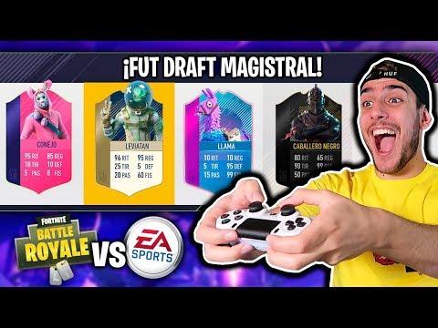 FUT DRAFT BATTLE ROYAL !!! FORTNITE VS FIFA 18