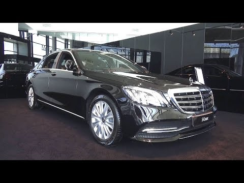 2017 Mercedes-Benz S 450 4MATIC. Start Up, Engine, and In Depth Tour.