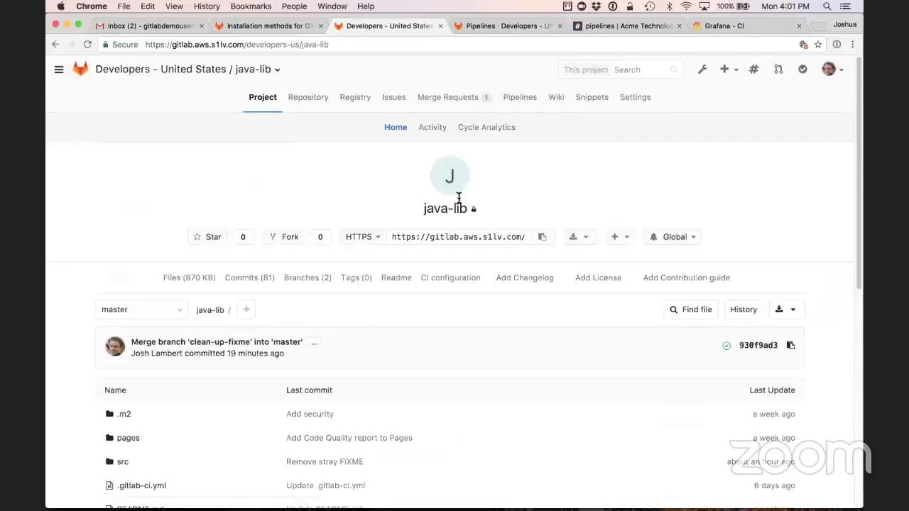 GitLab CI Live Demo - YouTube
