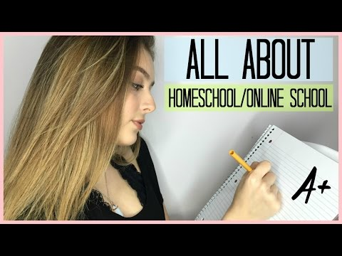 All About Homeschool/Online School! ♡ (How To Convince Your parents, Q&A, & MORE!)