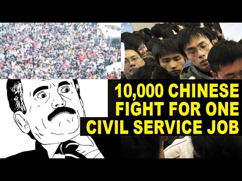 10,000 People In China Are Applying For The SAME Job