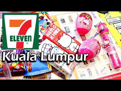 Kuala Lumpur, Malaysia Travel Vlog 3   What's Inside 7 Eleven