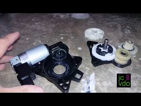 how to: 2009 Mazda 3 windows gears repair