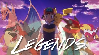 Pokemon [AMV] - Ash How Legends Are Made -