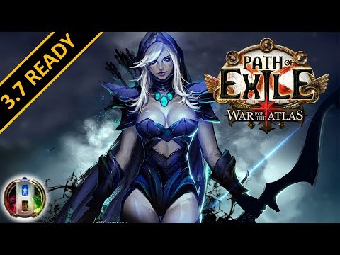 Path of Exile 3.7 - Ice Shot Build - Deadeye Ranger - Legion