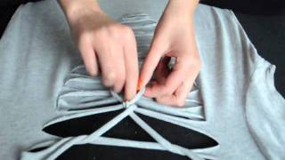 evollove DIY  plait t-shirt