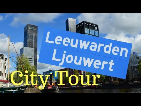 Leeuwarden, Friesland, The Netherlands (City Center Tour) GoPro