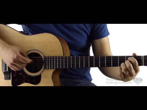 Runnin' Outta Moonlight Randy Houser Guitar Lesson and Tutorial