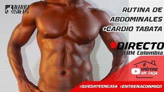 RUTINA DE CARDIO ABDOMINALES EN CASA