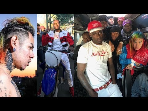 44d22022 6IX9INE Says The Rap Scene In NYC is Back & Gives His Props To Sheff G 22Gz  Kooda B & More !