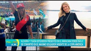 Alondra García Miró y Thaísa Leal estuvieron juntas en el estadio - Mujeres al mando