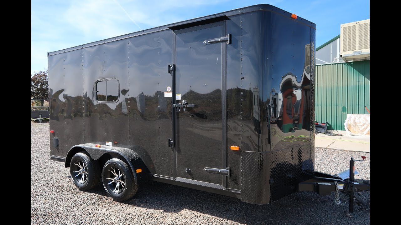 New 2017 Cargo Craft Elite V 7x16 Enclosed Trailer Great